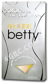 Betty Beauty Color for Hair Down There - BLONDE by Betty Beauty