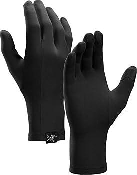 Arc teryx Rho Glove | Touch Screen Compatible Glove | Black Medium