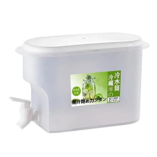 xiaowang Hervidor de agua fría de 3,5 L, con grifo, cubo de agua de hielo de gran capacidad, para oficina, camping, jugo, bebidas de cócteles