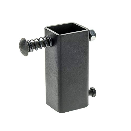 Caldwell High Caliber AR500 Steel T-Post Target Plate Hanger for Precision Shooting and Target Practice