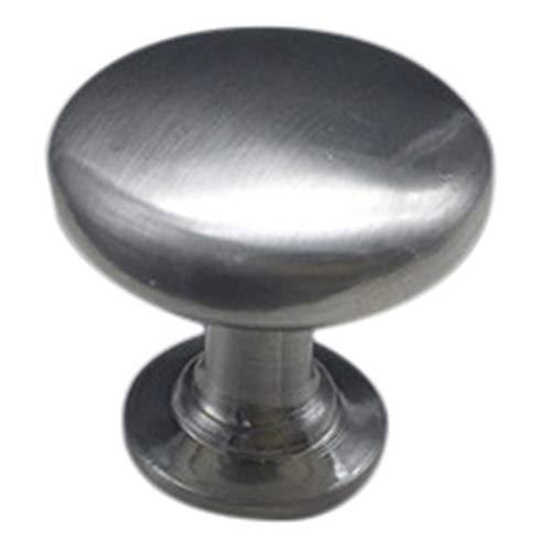 JJDD - Pomos para armarios (25 unidades, aleación de zinc), color negro