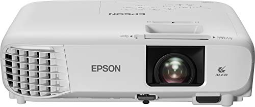 Epson EH-TW740 with HC Lamp Warranty Videoproiettore Full HD 1080p, 1920 x 1080, 16:9, Luminosità 3.300 lumen, Tecnologia 3LCD, rapporto di contrasto di 16.000:1, lampada lunga durata - bianco