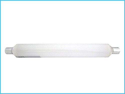 LED-lamp S19 Tubolare Lineair Wit Warm 6 W 310 mm 220 V PC Opalino voor badkamer kast