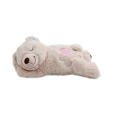 Pet Prime Dog Plush Toy Heartbeat Plush Bear Puppy Heart Beat Toy Dog Comfort Toy