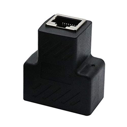 shunbang yuan Adaptador de Red RJ45 Inicio Oficina Internet Divisor de Ethernet...