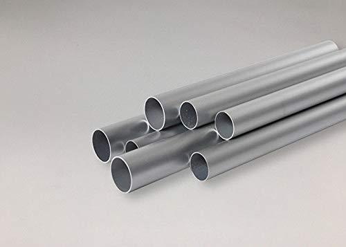 Tubo di alluminio AlMgSi0,5 tubo rotondo modello fino a 1,5 m. profilo di alluminio