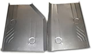 Classic 2 Current Fabrication 1984-96 Jeep Cherokee, Wagoneer & Comanche Rear Floor Pans (Pair)