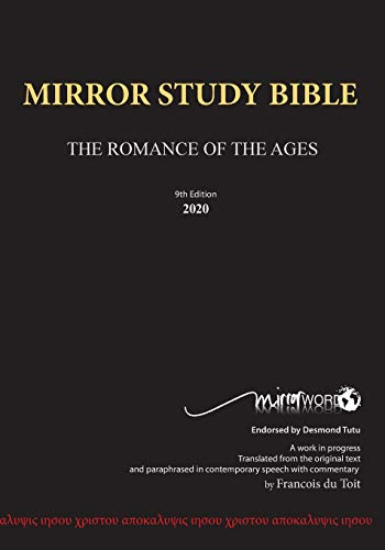 Mirror Study Bible - Paperback (948 page, Ninth Edition 7 X 10 Inch, Wide Margin - the black cover replaces both the older red and blue cover versions.) (Mirror Word)