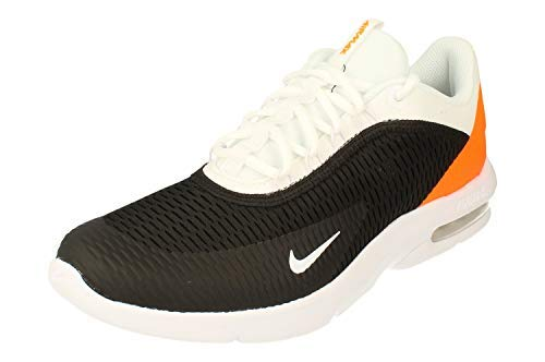 Nike Air Max Advantage 3 Mens Running Trainers AT4517 Sneakers Shoes (US 11, Black White Total Orange 004)