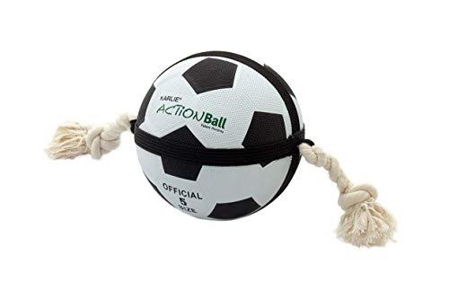 Karlie Action Ball - Fuß- und Basketbälle ø: 19 cm schwarz-weiss