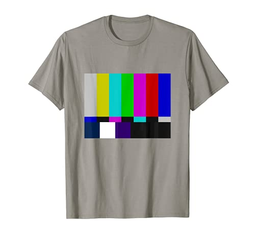 TV Test pattern T-Shirt like test card pal ntsc