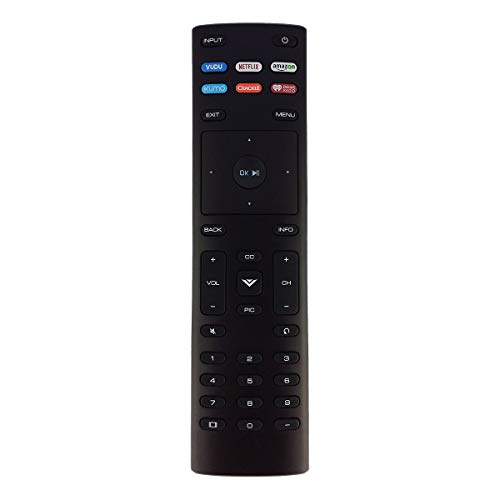 Aurabeam XRT136 Replacement TV Remote Control for Vizio Television (XRT136)