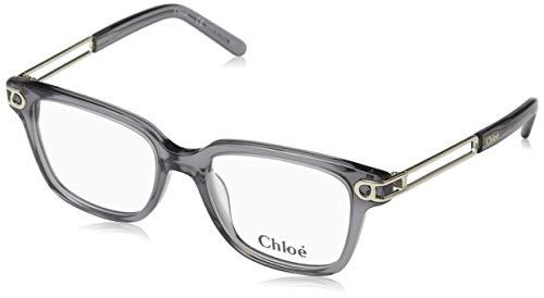 CHLOÉ CE2663 brilmontuur CE2663 Chloe rechthoekig brilmontuur 50, grijs