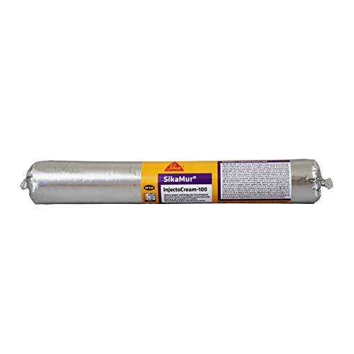 SikaMur InjectoCream-100, Tratamiento contra de humedades por capilaridad en las murados, Blanco,...