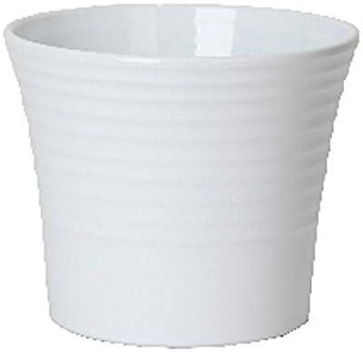 Keramik Hydro Blumentopf Maui weiss 13//12 Ø 16 cm H 14 cm