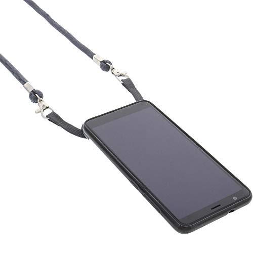 foto-kontor Hülle für Gigaset GS280 Umhängetasche TPU Schutz Tasche dunkelgrau