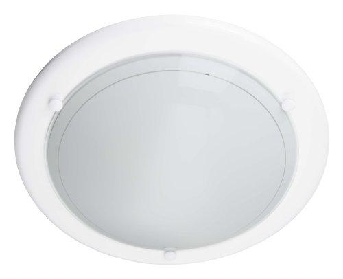 Brilliant - 427042 - Plafonnier Miramar - 60 W - E27 - Blanc