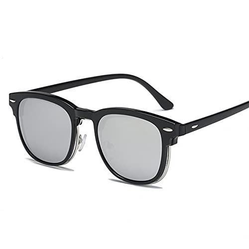 YTYASO Anteojos para Hombre, anteojos ópticos para Ordenador de Moda, Montura para Gafas Lisas