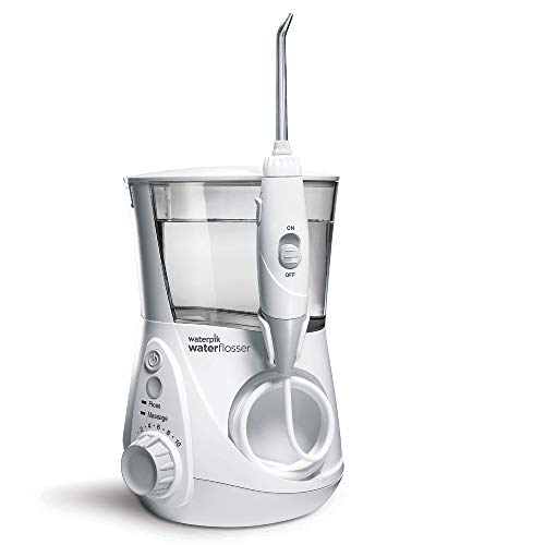 Waterpik WP-660EU Aquarius - Irrigador dental, 100-240V, depósito de agua de 650 m