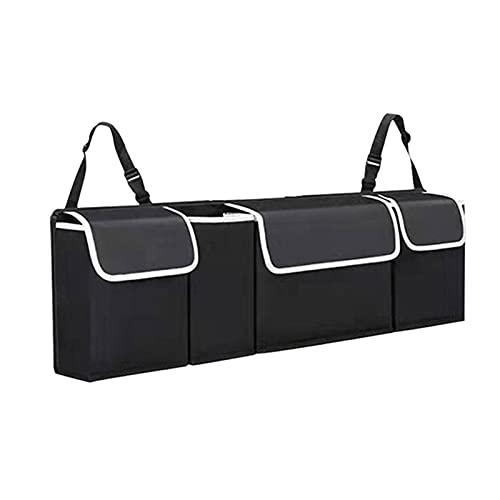 WYYUE Plegable Bolsa de Almacenamiento de Coche   Múltiples Compartimentos Impermeable Portátil   Organizador Maletero Coche de Oxford Cloth Bolsa para Organizador de Coche