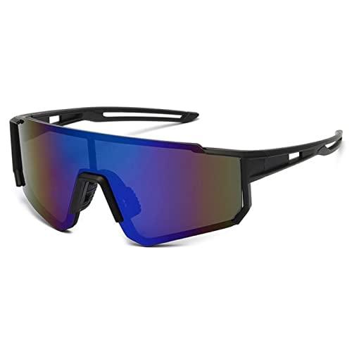 wsxcfyjh Occhiali da Sole da Uomo Occhiali da Sole da Ciclismo Occhiali da Ciclismo All'Aperto Occhiali da Bicicletta da Uomo Campeggio Sport per Ciclisti Taglia Unica C5