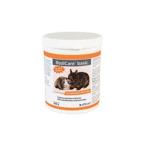 RODICARE Basic Pellets f.Kaninchen/Meerschweinchen 1000 g
