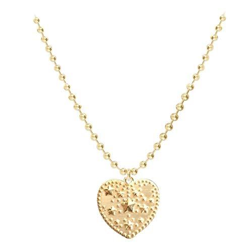 Lora di Lora Halskette Indi Catch. Kurze Halskette, in der Länge verstellbar 18K Vermeil Gold für Frauen 36 cm + 5 cm