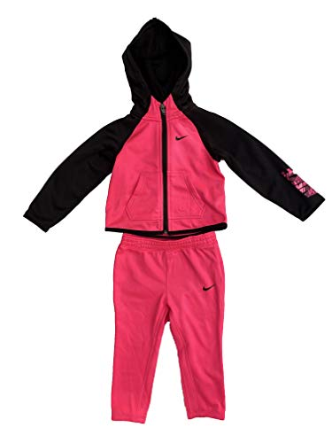 Nike Baby Girls 2-Piece Jacket and Pant Set - Hyper Pink (18 Months)
