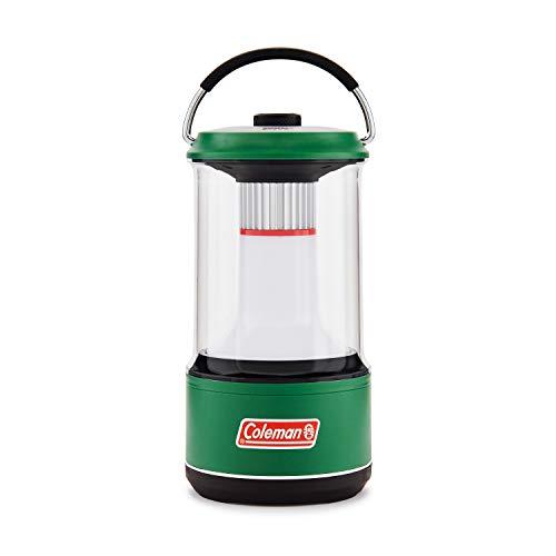 Coleman - Linterna LED con batería (1000 lúmenes), color verde