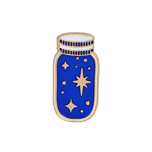 Pin de esmalte de viaje espacial de dibujos animados astronauta planeta estrella broche solapa Pin personalizado insignia regalo para niños niña