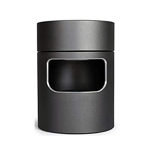 Bora 3 en 1 Multifuncional Cenicero Sin Humo Ceniceros Portátiles FiltrarUSB Recargable para Coche/Interior/Exterior Proteger la Salud Familiar (Gris Oscuro)