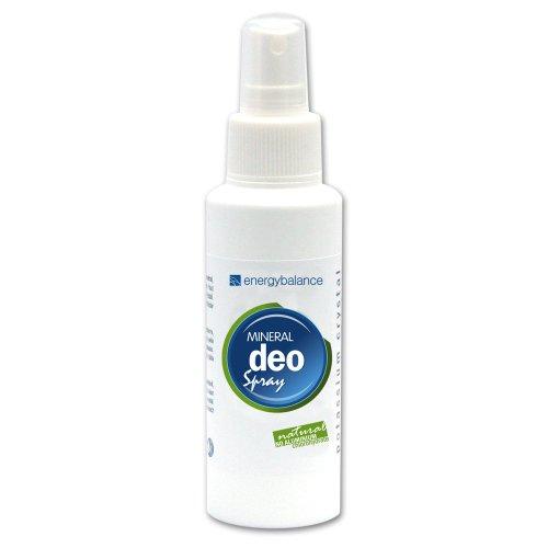 EnergyBalance Deo Kristall Spray - Damen, Herren - ohne Aluminiumchloride, ohne Alkohol, Duftneutral, Vegan, keine Tierversuche, keine Flecken - 100 ml
