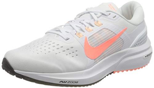 Nike Wmns Air Zoom Vomero 15, Zapatillas para Correr Mujer, White Crimson Pulse Crimson Tint Black, 40 EU