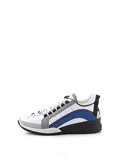 Dsquared2 Hombre 551 Zapatillas Bianco 42 EU