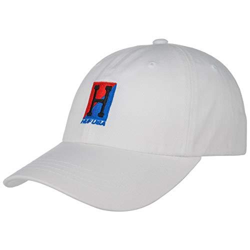 HUF Gorra Stadium-Relay Strapback de Beisbol (Talla única - Blanco)