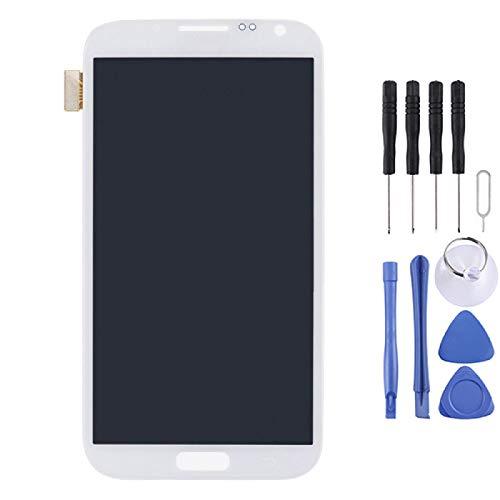 Yukiki Reemplazar LCD Display + Touch Panel for la Nota II / N7105 (Blanco) (Color : White)