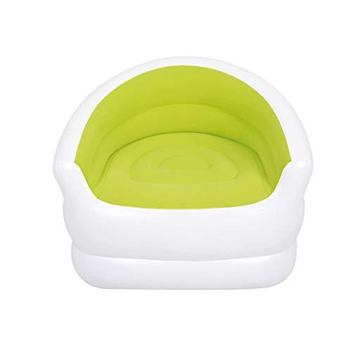 YWSZJ Creativo Lindo y cómodo Inflable Tumbona en la Playa Bolsa, multifunción portátil Plegable sofá (Color : Green)