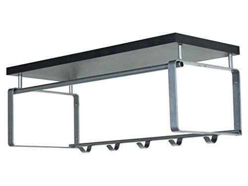 Spinder Design Rex 3 kapstok, nikkel-look, metaal, nikkel, M