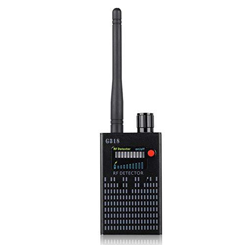 YEHEI Detector De Señal RF Inalámbrico Antiespía, Detector De Señal De Cámara De Error, Detector GPS Tracker Cámara Oculta Detector De Señal De Dispositivo De Escucha