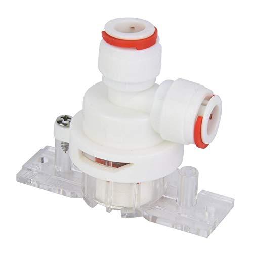 LXH-SH Das elektromagnetische Ventil 3/8 Zoll (9,5 mm) DN10 Auto Wasser Absperrventil Leckage-Schutz for RO Umkehrosmose-Anlage Wasserleckschutz Ventil Industriebedarf