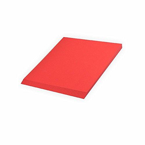 Tonpapier 130 g A4 20 Blatt Ziegelrot