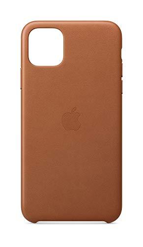 Apple Leren hoesje (voor iPhone 11 Pro Max) - Zadelbruin