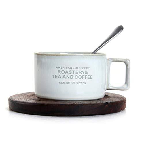 Kaffeetasse Keramik Tassefashion Cafe Shop Kaffee Keramik Tasse Untertasse Anzug Nachmittagstee Tasse Kleine Kaffeetasse Mit Geschirrlöffel Set Katzenkot Kaffeetassen, 18 Style