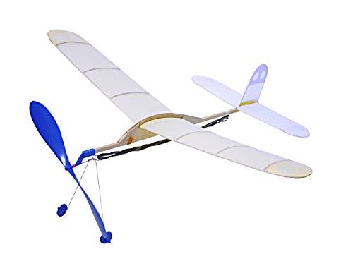 スタジオミド 高性能ライトプレーンシリーズ スパロー ゴム動力模型飛行機キット LP-22