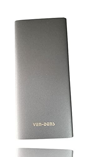 Ven-Des Powerbank 10000mAh, +48HRS, Micro USB-C, PD Quick Charge 3.0