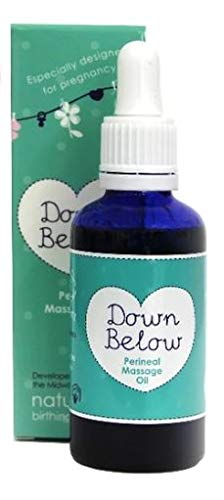 Natural Birthing Company Down Below Perineal Massage Oil, 1 Pack(1 x 50 ml)