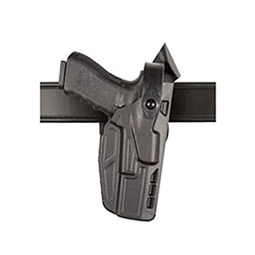Safariland 7360 ALS/SLS, Level 3 Retention Duty Holster, Mid Ride, Fits: S&W M&P 9mm.40 & M&P 2.0 .40 - Black - STX Plain, Right Hand