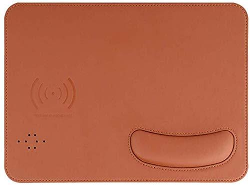 BALALA muismat gel pols ergonomische muismat toetsenbord handondersteuning muismat kantooraccessoires spel Qi-certificering 2 in 1 draadloze oplader, 10 W (voor Samsung, iPhone)