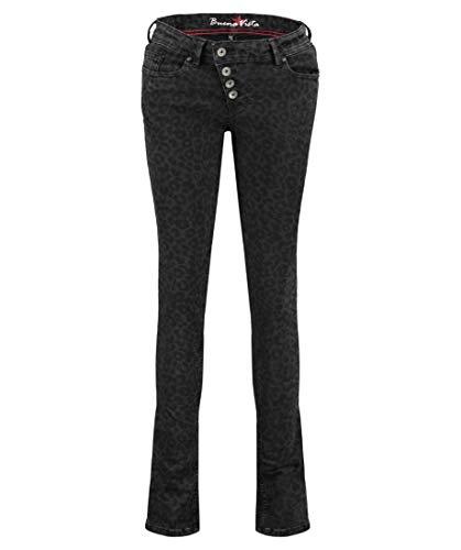 Buena Vista Damen Jeans Malibu Skinny Fit braun (25) M