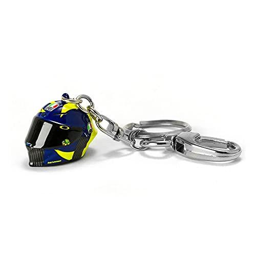 Valentino Rossi Vr46 Classic-Zubehör, Schlüsselanhänger Unisex Adult, Multicolor, 4,5x2cm